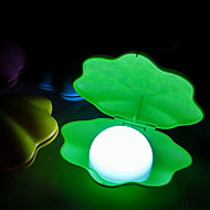 Fashion Natural White USB Shell Style Night Light Multicolor