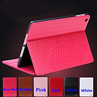 Business Crocodile Leather Band Sleep PU Leather Flat for Ipad 5 (Assorted Colors)