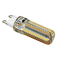 4W G9 LED Corn Lights T 104 SMD 3014 350 lm Warm White AC 220-240 V 1 pcs