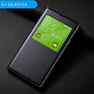 big d auto uni / herätä vedenpitävä ympyrä flip kotelo Samsung Galaxy S5 i9600