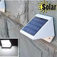 HRY® 4LEDS White Color Light SolarWallLight Solar Lights