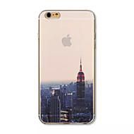 Morgendämmerung der Stadt Muster Acryl Hülle für das iPhone 6