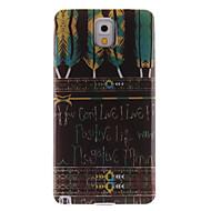 Για Samsung Galaxy Note IMD tok Πίσω Κάλυμμα tok Φτερό TPU Samsung Note 3