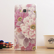 Magic Spider®Hibiscus Flowers 3D Relievo Diamond Hard Back Case Cover with Screen Protector for Samsung Galaxy A5