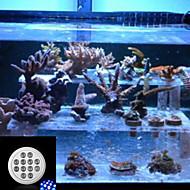 morsen® e27 12w 720-960lm 8white y 4blue llevó las luces de buceo pecera del acuario de luz (85-265v)