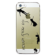 Never Grow Up Design Hard Case for iPhone 4/4s