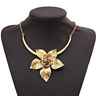 Damskie Oświadczenie Naszyjniki Cyrkonia biżuteria kostiumowa Biżuteria Na Impreza