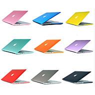 Plástico táctil 2 en 1 colores caramelo suave cubierta de la caja fuerte&cubierta del teclado para el macbook pro retina ingenio 15