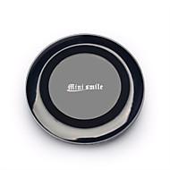 minismile ™ nyeste qi standard topp kvalitet trådløs lader for samsung galaxy S6 / S6 kant / iphone 6 / mobiltelefon