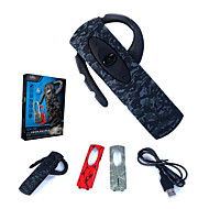 EX02 Bluetooth Headset Gaming Headphones with 3 Pcs Faceplate Pack for Sony Playstation 3 / PS3