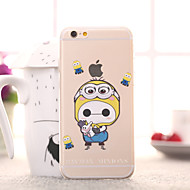 Baymax Minions Pattern TPU Soft Cover for iPhone 6/6S