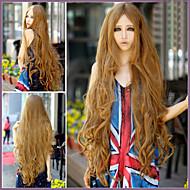 pistettä pitkään otsatukka pitkä tukka peruukki pitkä ilmamäärä 1m