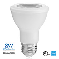 Vanlite E26 Base 8W LED Spotlight PAR20 500lumen 50watt Equivalent Sofe White/ Natural/ Cool White AC120V