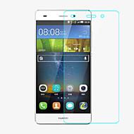 professionele hoge transparantie lcd kristalheldere screen protector met een reinigingsdoekje voor Huawei p8 mini