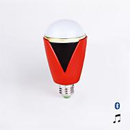 1個 Haozo E26/E27 5 W 4PCS DIP LED 75lm LM 変色 回転可能 明るさ調整/リモコン操作/センサー/装飾用/Bluetooth LEDスマート電球 AC 100-240 V