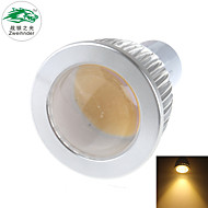 7W GU10 Focos LED S19 1 COB 650 lm Blanco Cálido Decorativa AC 100-240 V 1 pieza