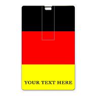 unidade flash USB flash drive personalizado cartão de 32gb usb design da bandeira alemão