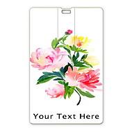 unidade flash USB flash drive personalizado cartão de 32gb usb desenho elegante flor