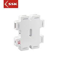 usb 2.0 ssk® shu011-1 7-port hub USB de alta velocidade