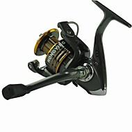 Carretes para pesca spinning 5.1:1 13 Rodamientos de bolas IntercambiablePesca de Mar / Pesca a la mosca / Pesca al spinning / Pesca de