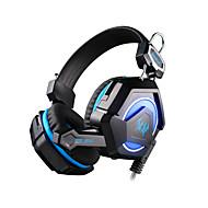 gs210 stereo headset jogo de computador e auscultadores head-mounted