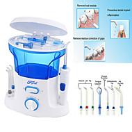 dental vand trådbrugeren + kvalitet oral irrigator med 7pcs jet spids&600ml vand tank til tandhygiejne&tand
