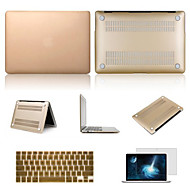 "Case for Macbook Air 13.3"" Solid Color Plastic Material High Quality Solid Colors PVC Hard Case with Screen Protector and Keyboard Flim"