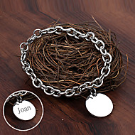 Personalized Gift Jewelry Stainless Steel Engraved Bracelets