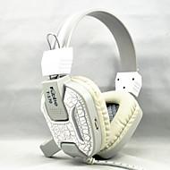 stereo headset profissional gaming pc levou fones de ouvido para baixo jogo de computador