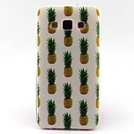 Voor Samsung Galaxy hoesje Patroon hoesje Achterkantje hoesje Fruit TPU Samsung A5 / A3