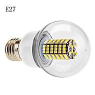 E14 / B22 / E26/E27 7 W 120 SMD 3528 630 LM Warm White / Cool White G60 Globe Bulbs AC 220-240 V