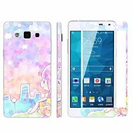 Explosion-Proof -Toughened Membrane Transparent Anti-Shock Pasted color-membrane for Samsung Galaxy A5