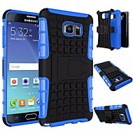 For Samsung Galaxy Note7 Stødsikker Med stativ Etui Bagcover Etui Armeret PC for Samsung Note 7 Note 5 Edge Note 5 Note 4