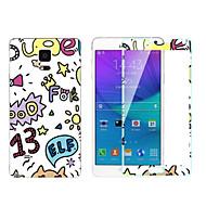 anti-déflagrant membrane -toughened transparent anti-chocs collé couleur membrane pour Samsung Galaxy Note 4