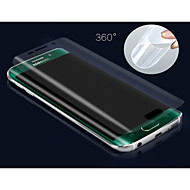 3d full dekning high definition tpu hindre scratch skjermbeskytter for samsung galaxy s6 kanten