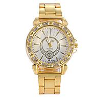 Women Watches Gold Watch Women Fashion Alloy Crystal Quartz Watch