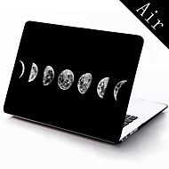 el caso de protección de cuerpo completo diseño de la luna de 11 pulgadas / 13 pulgadas de aire nuevo macbook