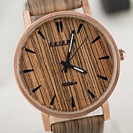Unisex Watches European Style Vintage Wood Watch Waterproof Case Men And Women Watch
