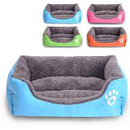 Γάτα Σκύλος Κρεβάτια Κατοικίδια Χαλάκια & Μαξιλαράκια Αδιάβροχη Cute Πορτοκαλί Τριανταφυλλί Πράσινο Μπλε