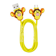 Disney Tiger Charging Cable For Samsung S4/S5/S6/S6E