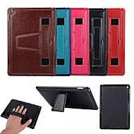"9.7""Inch Crazy Ma Pattern Luxury PU Wallet Leather Back Cover with Stand for iPad Air iPad 5(Assorted Colors)"