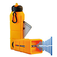 Acecamp suono silicone bottiglia bollitore amplificatore musicale arancione