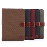 Plaid Style PU Leather Case Card Slots & Wallet with Holder for iPad mini 2/3 (Assorted Colors)