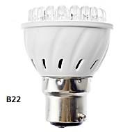 B22/E26/E27 3 W 38 Dip LED 155 LM Warm White Spot Lights AC 100-240 V