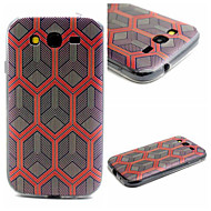 Voor Samsung Galaxy hoesje Patroon hoesje Achterkantje hoesje Geometrisch patroon TPU SamsungJ1 / Grand Prime / Grand Neo / Core Prime /