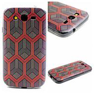 Varten Samsung Galaxy kotelo Kuvio Etui Takakuori Etui Geometrinen printti TPU SamsungJ1 / Grand Prime / Grand Neo / Core Prime / Core