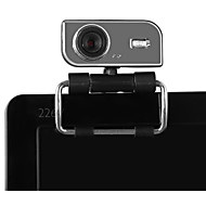 venda quente usb 2.0 30m cam câmera hd web grau 360 com mic clip-on para skype desktop do computador laptop pc