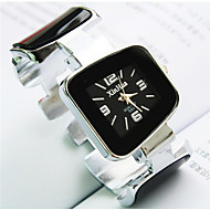 Fashion Irregular Shaped  Mineral Glass Quartz Bracelet Watch(White,Blue,Pink,Balck,Yellow)(1Pc) Cool Watches Unique Watches