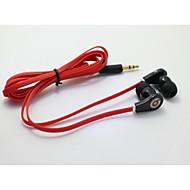 clássico 3,5 milímetros 1,0 fone de ouvido em ouvido para 100 centímetros iphone / samsung / Huawei / milho / arroz vermelho / HTC (cores