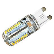 5W G9 LED2本ピン電球 C35 64 SMD 3014 450 lm 温白色 装飾用 交流220から240 V 1個